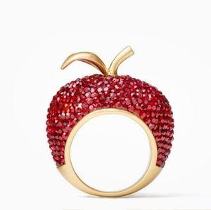 "New Kate Spade Apple Ring ""Dashing Beauty"""